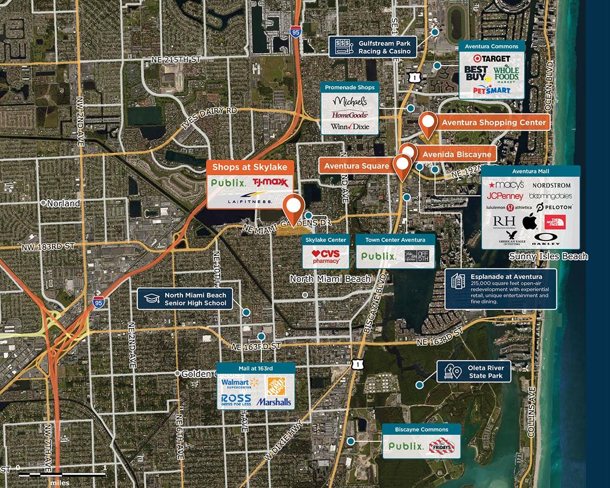 Shops at Skylake, North Miami Beach, FL 33179 – Retail Space