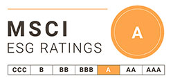 """An """"A"""" ESG Rating from MSCI"""