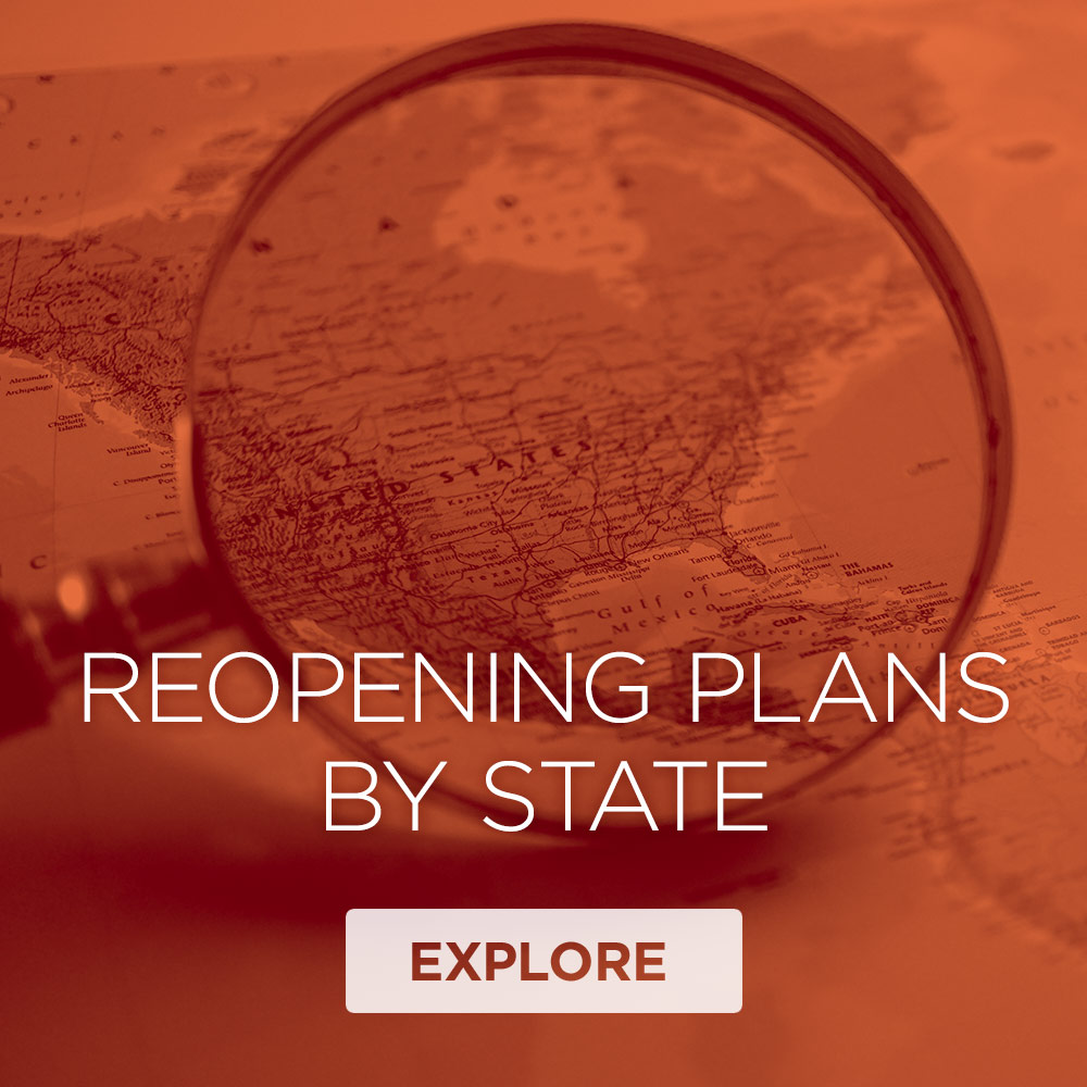Repening Plans By State