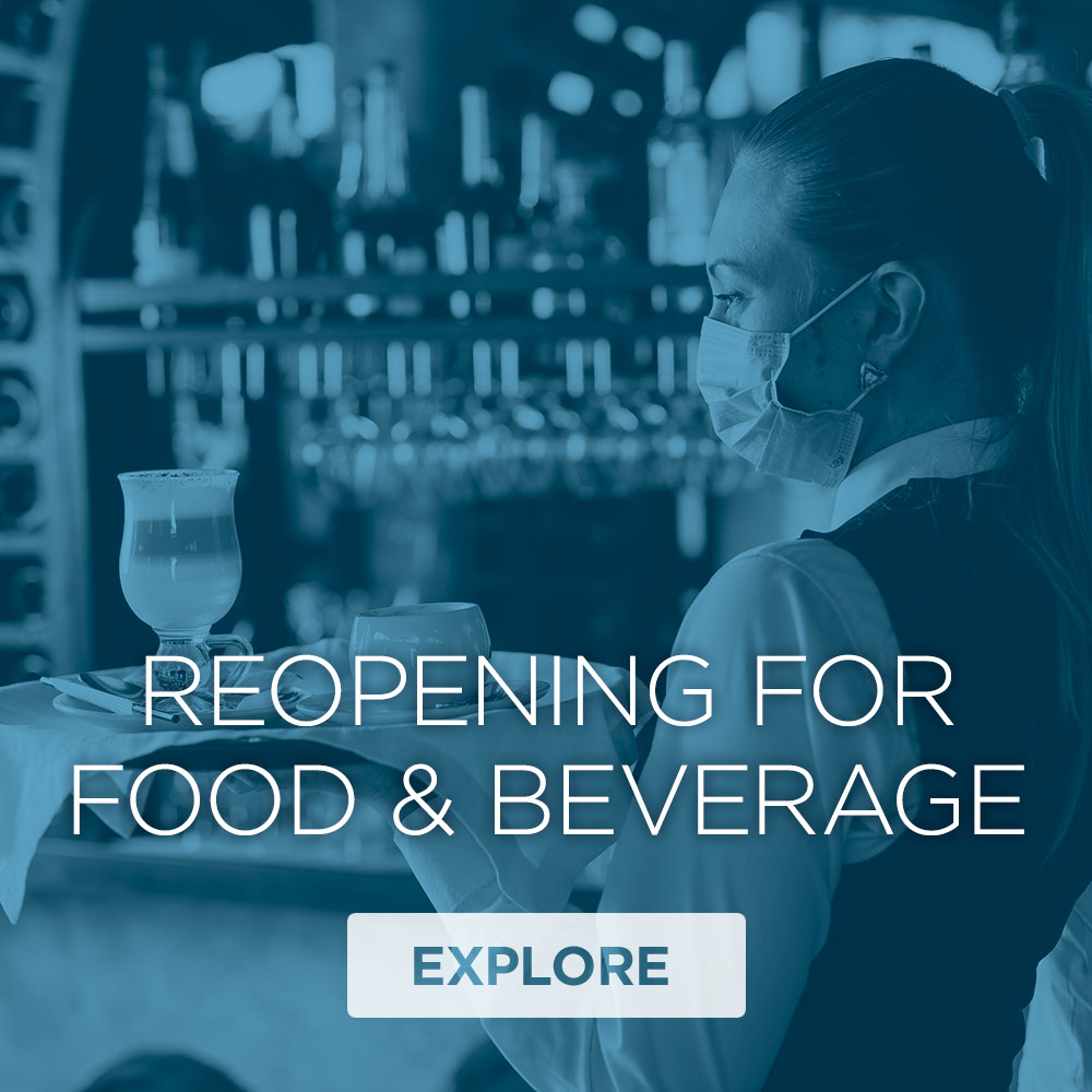 Reopening For Food & Beverage