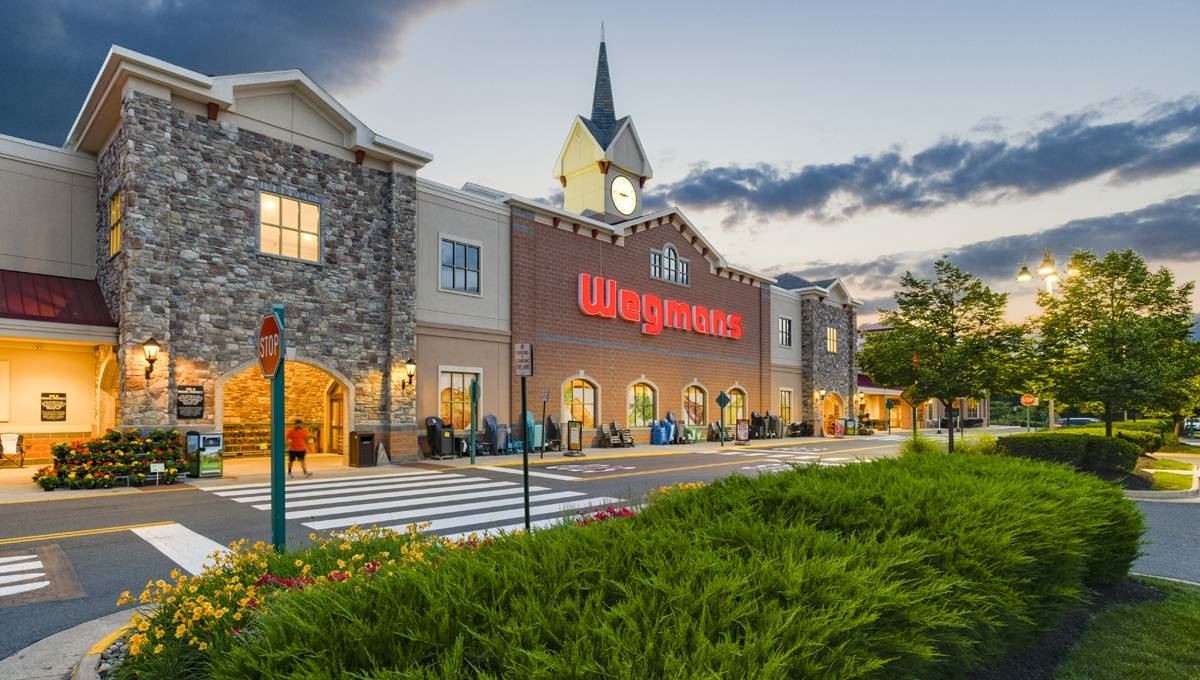 Image of The Shops at Stonewall showing Wegmans