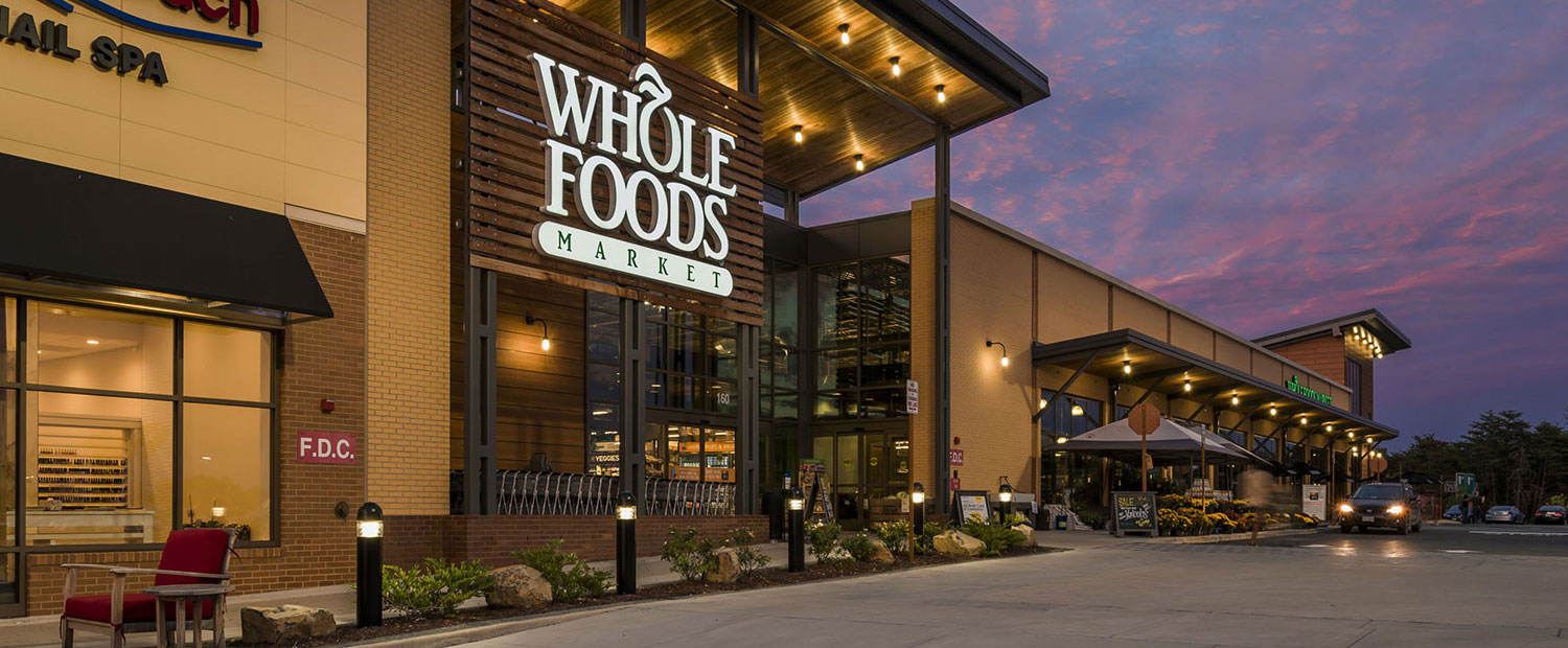 Whole Foods Storefront at Regency Centers