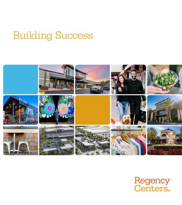 Regency Centers - Building Success