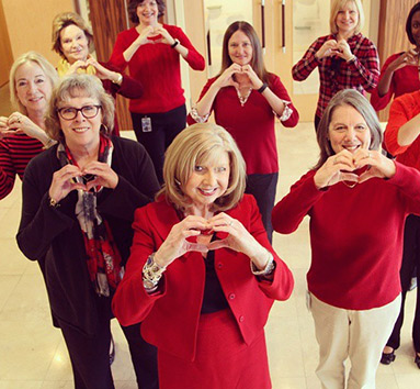 Regency Employees Supporting Heart Health