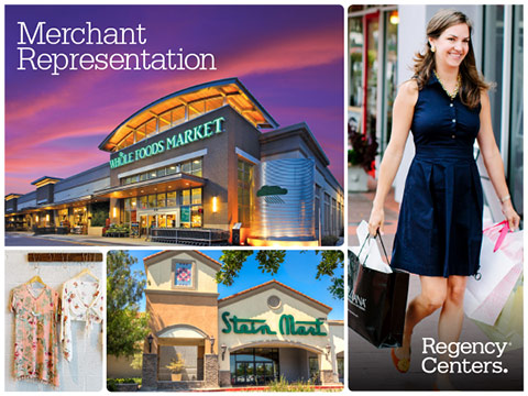 Regency Centers Merchant Representation