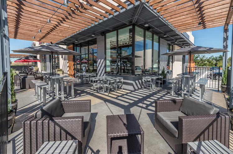 CityLine Market Restaurant Patio