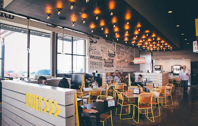 CityLine Market Restaurant Interior