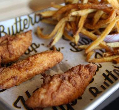 Fish and Chips Dish