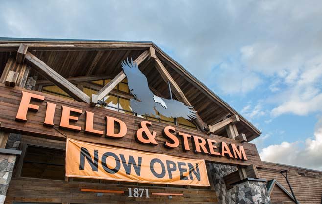Field and Stream Storefront