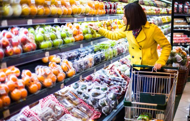 Customer Grocery Shopping